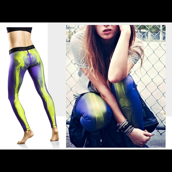 Nike Pro X-ray Skeleton tights leggings. M 5b743c5781bbc87a81c1a8b1 397ff74601530